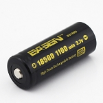 Basen 18500 High-Drain Button-Top Battery