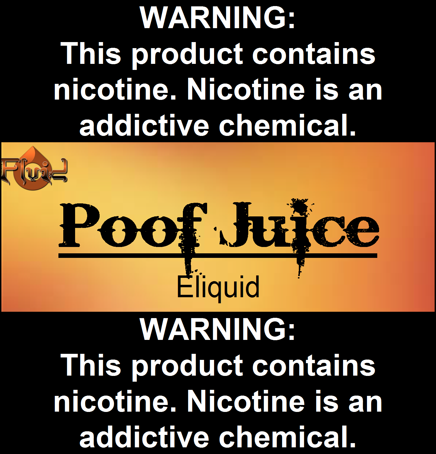 Poof Juice Eliquid
