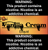 Vanilla Cream Eliquid