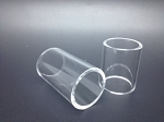 Fused Quartz Glass Replacement Tube for Fluid Flask